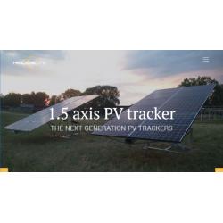 Fixation de panneau solaire au sol - Tracker HeliosLite