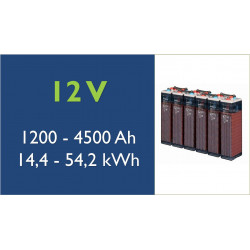 Batterie solaire - TAB- 12 V - OPzS Classic