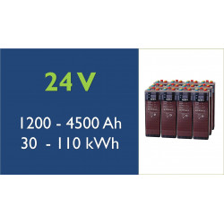 Batterie solaire - TAB - 24 V - OPzS classic