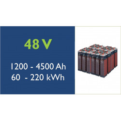 Batterie solaire - TAB- 48 V - OPzS classic